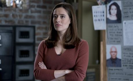 Burgess's Unimpressed Face - Chicago PD Season 4 Episode 11