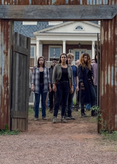 Open Sesame - The Walking Dead Season 9 Episode 11