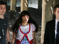 Gio, Betty, and Daniel Under Boardwalk