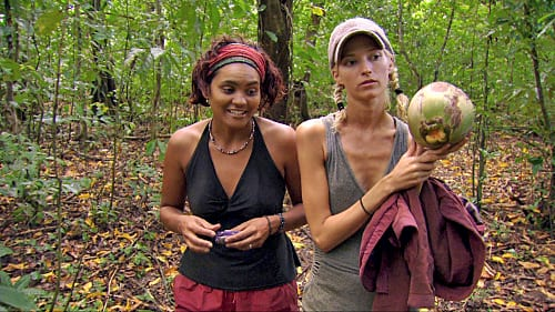 Courtney and Sandra Contemplate