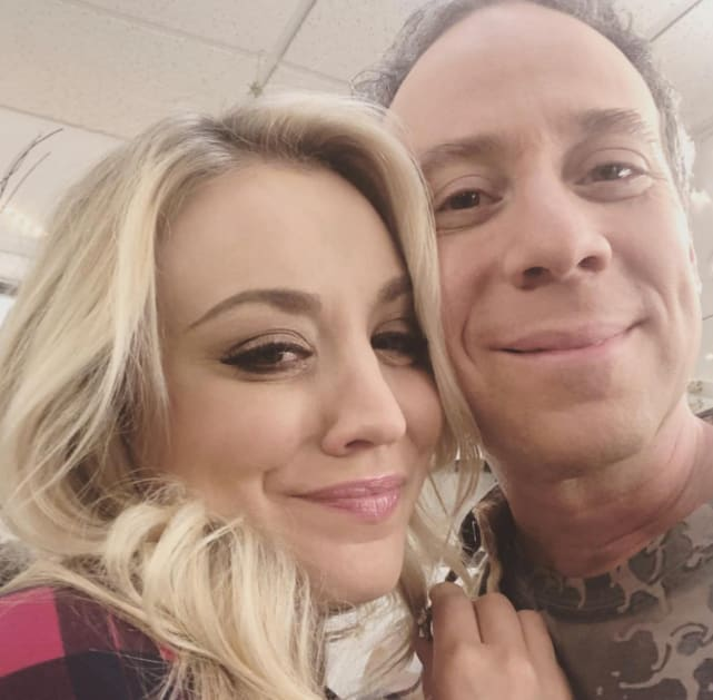 Sussman on working with Kaley Cuoco