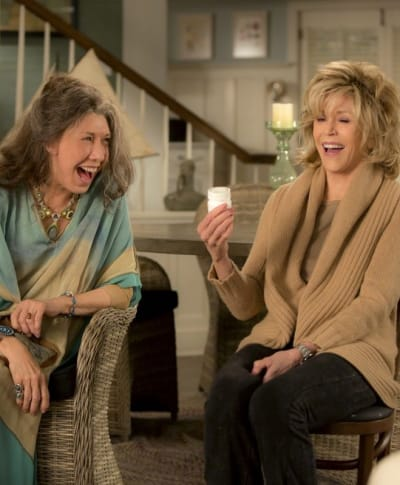 Grace and Frankie Laugh