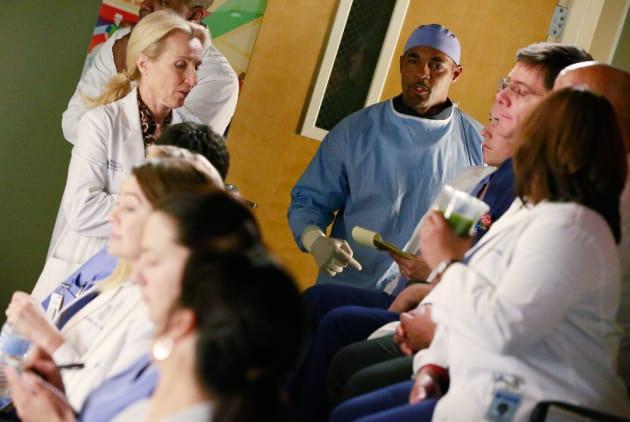 Ben Has An Update - Grey's Anatomy Season 11 Episode 19