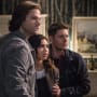 Sam, Dean and Alicia are in shock - Supernatural Season 12 Episode 20
