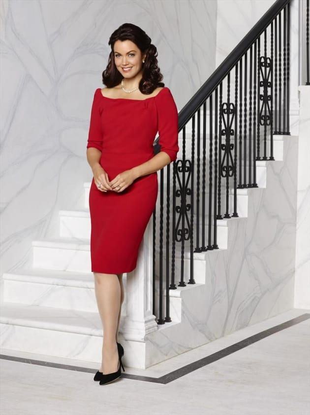 Bellamy Young As First Lady Mellie Grant Season 4