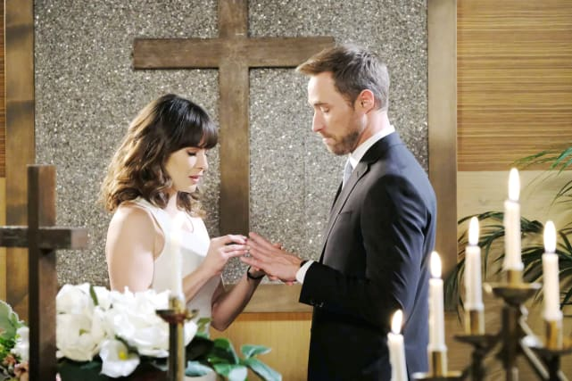 Eric agrees to marry Sarah and Rex