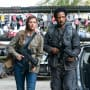 Broussard and Amy - Colony Season 3 Episode 4