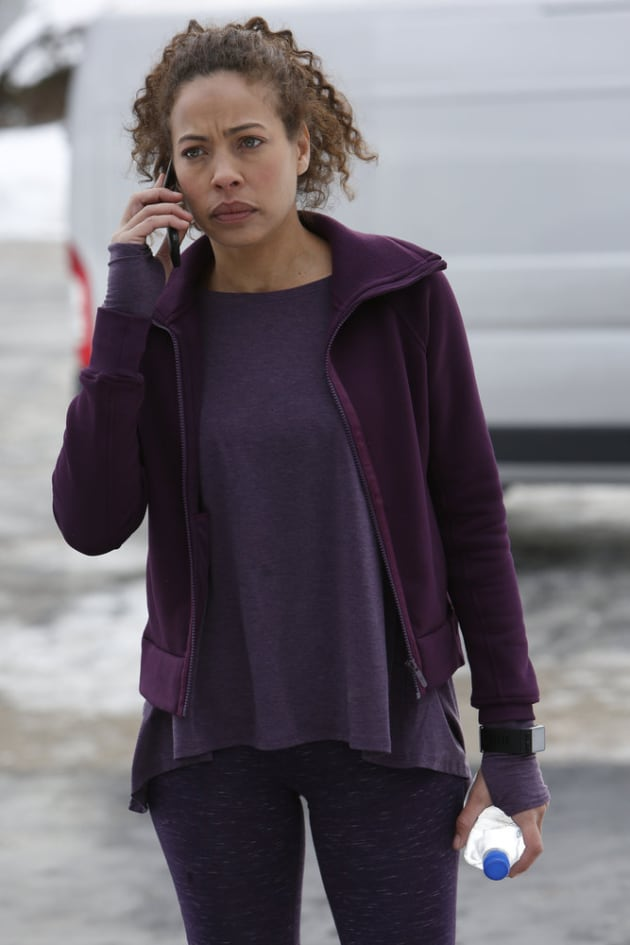 Nez on the Phone - The Blacklist: Redemption Season 1 Episode 3