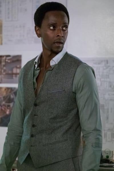Solomon in Shock - The Blacklist: Redemption Season 1 Episode 8