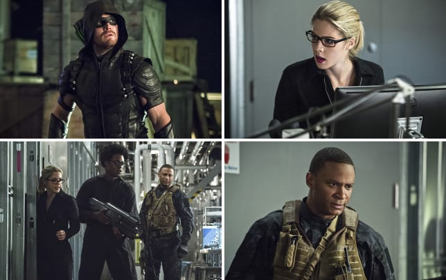Oliver on a mission arrow s4e6