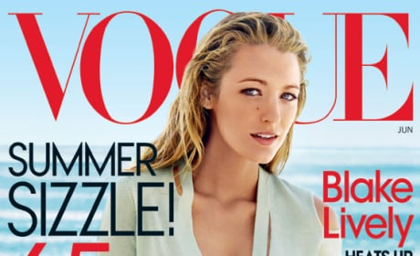 Blake Lively Vogue Cover Picture