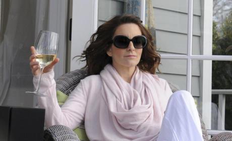 Liz in the Hamptons