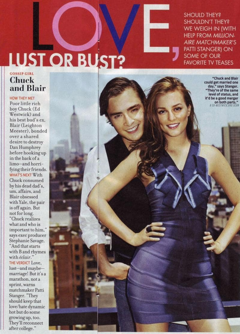 Chuck And Blair Dating In Real Life