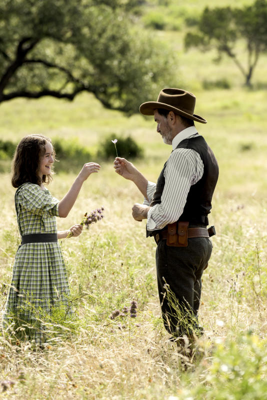 Eli and his granddaughter the son season 1 episode 1