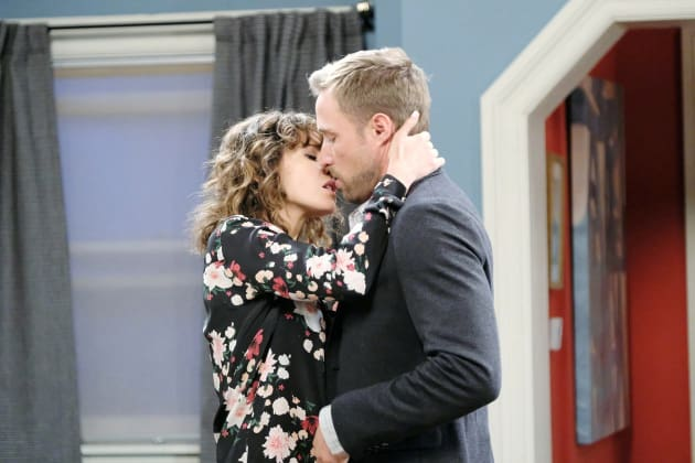 Kissing in the Living Room - Days of Our Lives