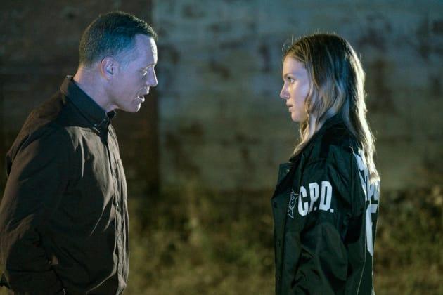 Upton's Face to Face - Chicago PD Season 5 Episode 6