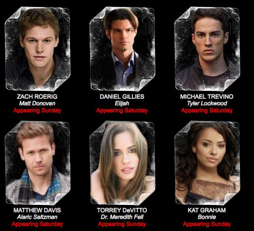 TVD Convention Appearances