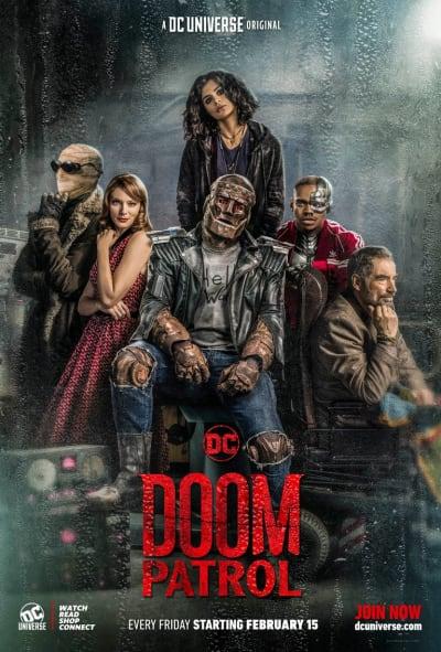 Doom Patrol Group Poster