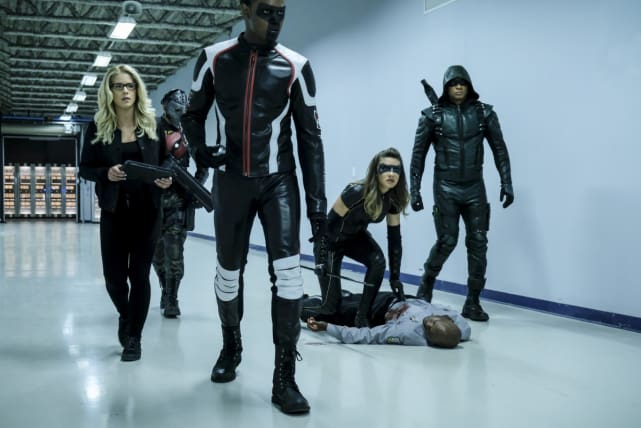 Can Team Diggle Handle It - Arrow Season 6 Episode 4