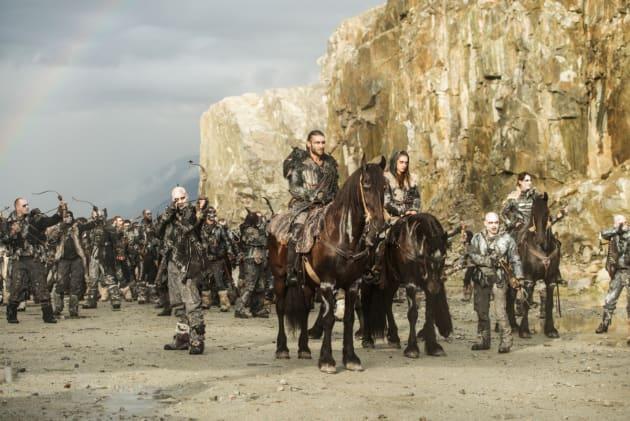 Ready to Attack – The 100 Season 4 Episode 5