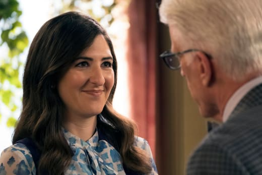 Janet and Michael - The Good Place Season 2 Episode 7