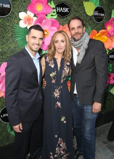 Antonio Cupo, Kim Raver, and Manu Boyer