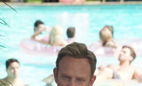 Ian By The Pool - BH90210 Season 1 Episode 1