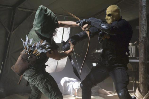 Deathstroke Scene
