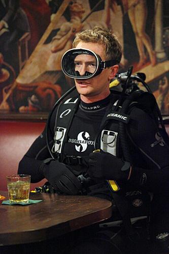 Barney in Scuba Gear