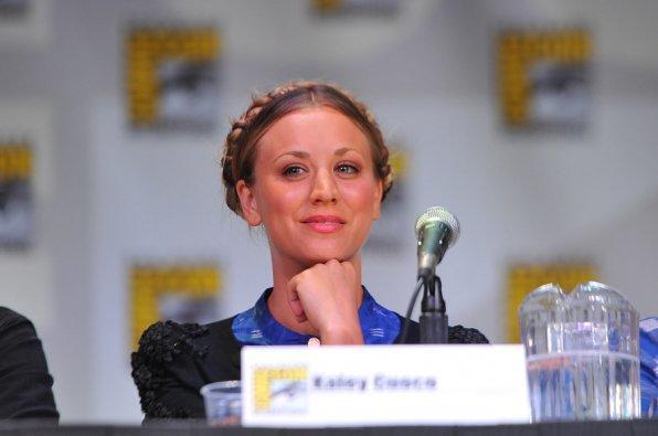 Kaley Cuocoo at Comic-Con