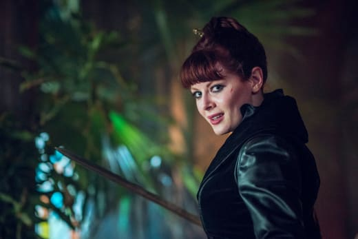 The Widow Braces for a Fight - Into the Badlands Season 2 Episode 9