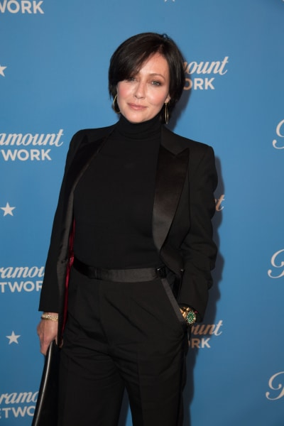 Shannen Doherty Attends Event