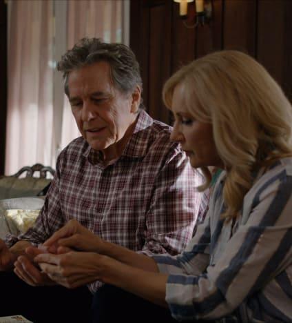 Muriel and Doc Get Close - tall - Virgin River Season 3 Episode 4