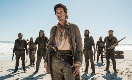 Capt. Jack's Priceless Expressions - Black Sails Season 4 Episode 6