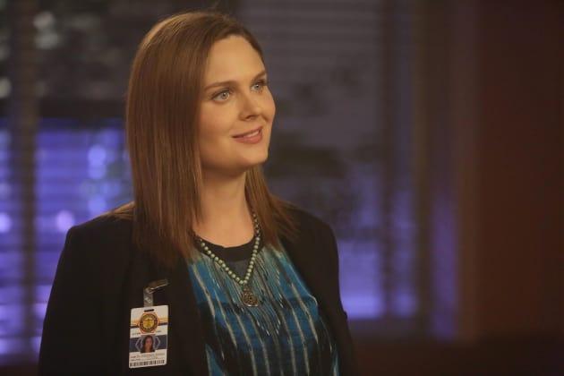 Brennan Smiles - Bones Season 10 Episode 22