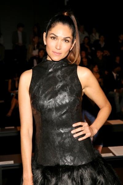 Lela Loren Attends NY Fashion Week
