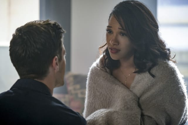 Concerned Fiancee - The Flash Season 4 Episode 3