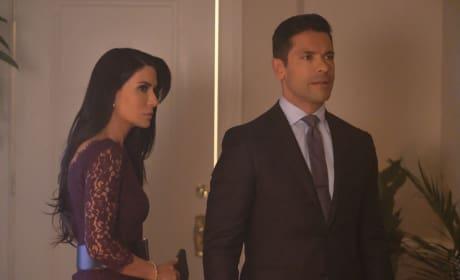 Mr. and Mrs. Lodge - Riverdale Season 2 Episode 3