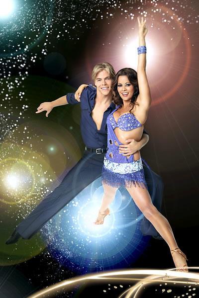 Derek Hough and Brooke Burke