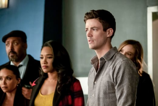 Barry and Iris Betrayed - The Flash Season 5 Episode 17