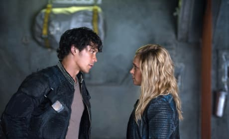 Bellamy & Clarke's Conversation – The 100 Season 4 Episode 3