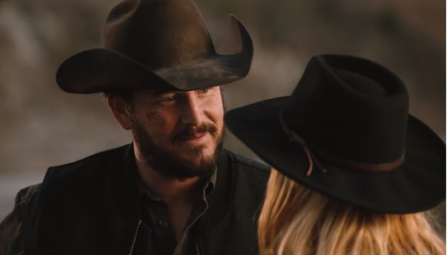 Rip and Beth Connect - Yellowstone Season 2 Episode 3
