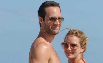 Becki Newton and Hubby Walk Miami Beach