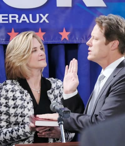 Jack is Sworn In - Days of Our Lives
