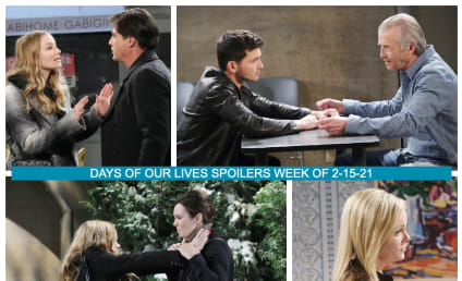 Days of Our Lives Spoilers Week of 2-15-21: All's Fair in Love and War