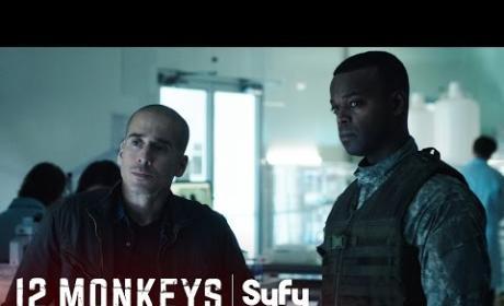 """12 Monkeys Sneak Peek - """"Yesterday"""""""