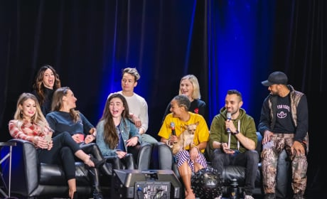 The 100 Cast At Unity Days