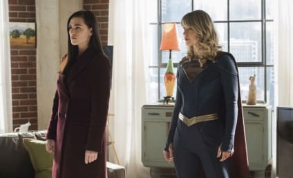 Supergirl Return Bumps Superman & Lois
