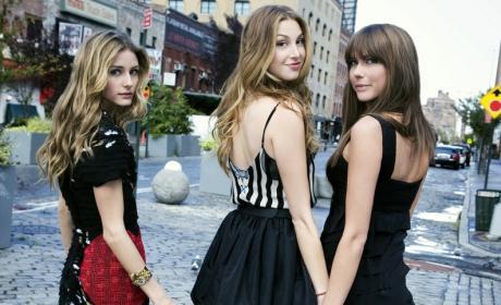 Whitney Port, Olivia Palermo, Erin Lucas