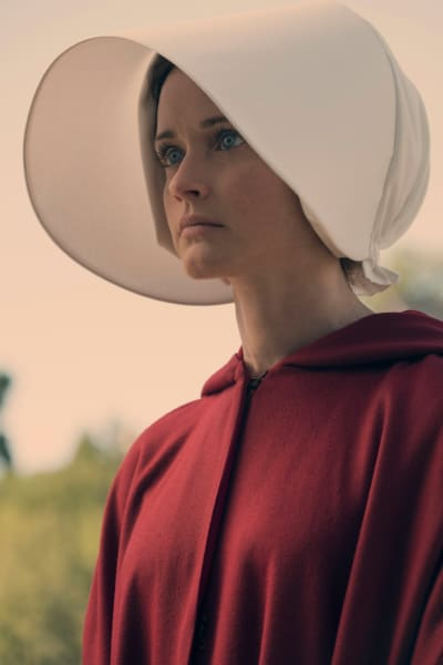 Ofglen in Uniform - The Handmaid's Tale